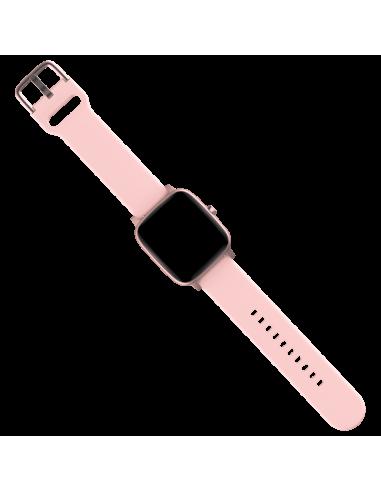 Smartwatch Square Termo Rosa