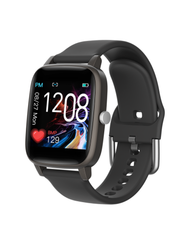 Smartwatch Square Termo Negro